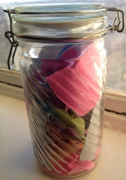2012 Jar of Memories!