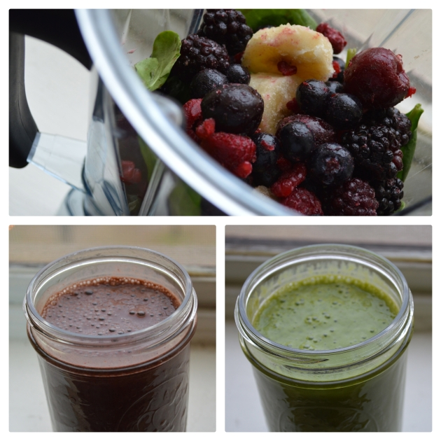 before and after smoothie