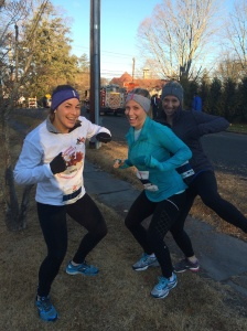Goofy Sisters doing the turkey trot..literally!