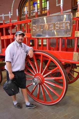 Dad enjoying the tour!