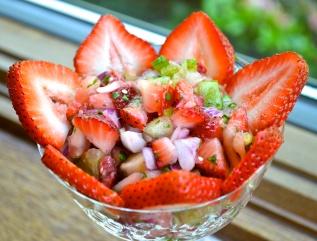Strawberry Season has begun! Strawberry Salsa...post coming soon!