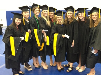 All the 2013 MS Nutrition and Dietetics Graduates!